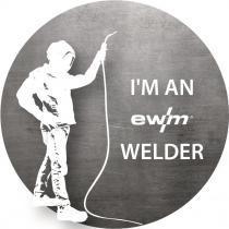 Aufkleber I'M AN EWM WELDER