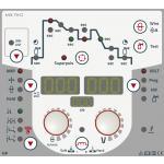 Taurus Synergic S - Однокнопочное управление на панели Synergic: Настройка рабочей точки одной кнопкой благодаря упрощенному выбору заданий, включая параметры задания