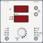 M2.20 - Двухкнопочное управление: Настройка рабочей точки путем изменения сварочного напряжения или скорости подачи проволоки, включая индикацию параметров