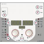 Taurus Synergic S LP - Однокнопочное управление на панели Synergic: Настройка рабочей точки одной кнопкой благодаря упрощенному выбору заданий