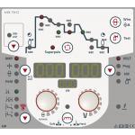Taurus Synergic S HP - Однокнопочное управление на панели Synergic: Настройка рабочей точки одной кнопкой благодаря упрощенному выбору заданий, включая параметры задания