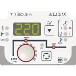 Pico 220 cel puls - Jednoknoflíkové ovládání se zobrazením svařovacích údajů, 100% zajištění proti spádu s celulózovými elektrodami