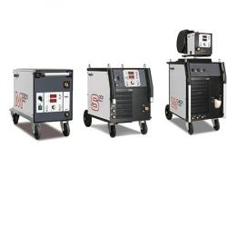 Step switch controlled welding machines